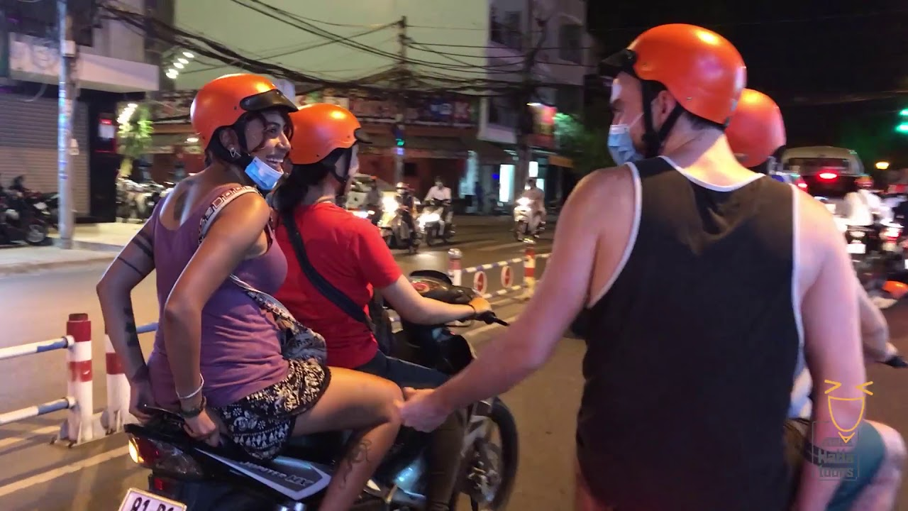 Food Tour in Saigon | Haha Tours | Yummy on Bike