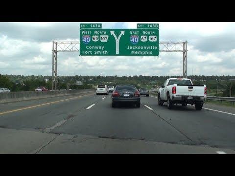 I-30/I-40, LITTLE ROCK, ARKANSAS, USA
