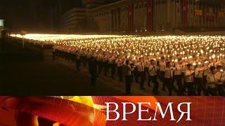 В Северной Корее с размахом отметили семидесятую годовщину образования КНДР.