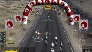 Pro Cycling Manager 2013 Mountain Gameplay
