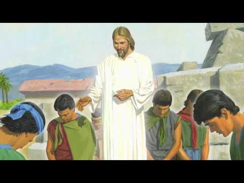 Capítulo 46: Jesus Cristo Ensina aos Nefitas e Ora com Eles