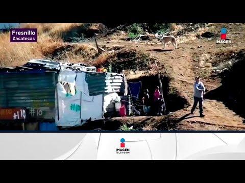 Así está sufriendo Zacatecas el frío intenso | Noticias con Yuriria Sierra