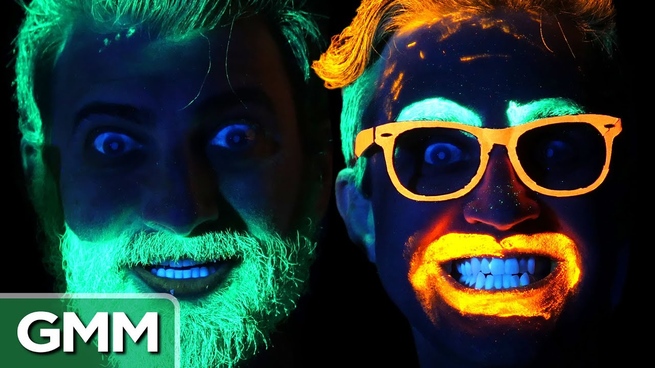 Radical Glow In The Dark Hacks Youtube