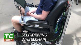 Taking a ride in MIT's autonomous wheelchair