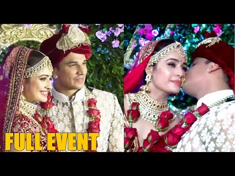 Prince Narula & Yuvika Chaudhary's GRAND WEDDING Ceremony   Full Event