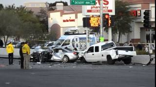 accident las vegas, nv., desert inn & fort apache 11/05/2015