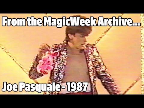 Joe Pasquale - New Faces of 87 - September 1987 - MagicWeek.co.uk
