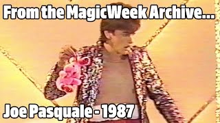 Joe Pasquale - New Faces of 87 - September 1987 - MagicWeek.co.uk