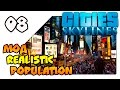 Cities Skylines Natural Disasters на русском Продолжаем с модом Realistic Population Lp 08 mp3