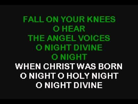 O Holy Night Karaoke