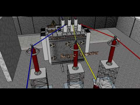 Electrical Substation Components In 3d Easy To Understand