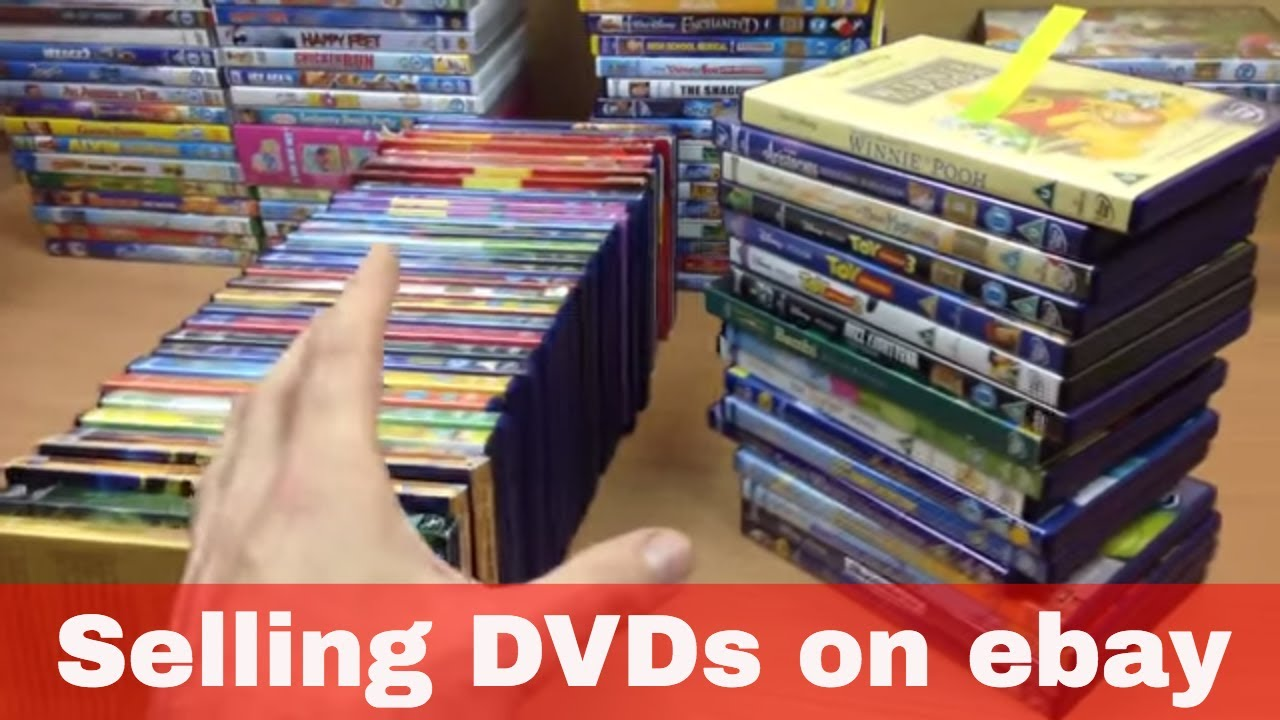 Selling DVDs on eBay - Disney and other children's movies - Making bundles