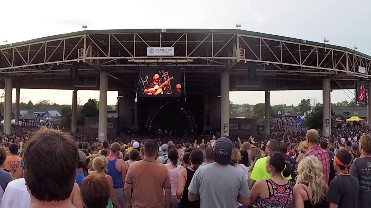 """Dave Matthews Band Live at Klipsch Music Center Noblesville IN """"Tripping Billies"""""""