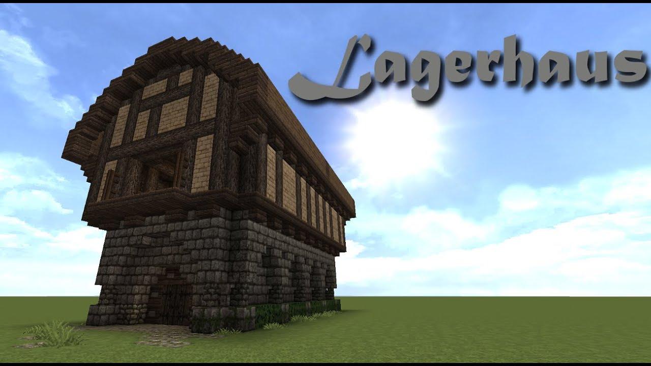 Minecraft Tutorial Lagerhaus Bauen YouTube - Minecraft lagerhauser