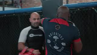 Notorious Nathias Frederick - Cage Warriors Fighter MMA Training at Team Renegade