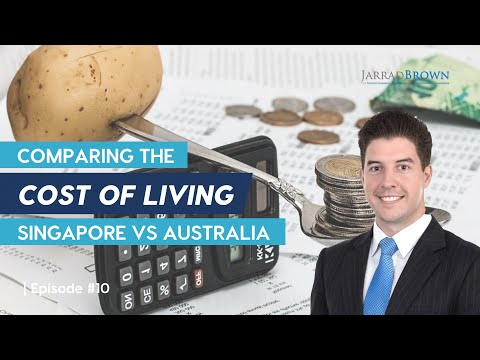 Cost Of Living Comparison - Singapore Vs. Australia
