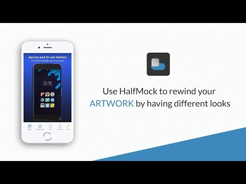 HalfMock to rewind your Artwork | AppWrap : Generate Device Art