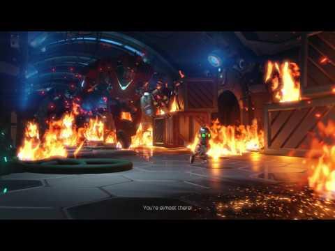 Ratchet & Clank 2016  - The Phoenix: Defeat Victor Von Ion: Generators & Pump Gadget Bot Puzzle