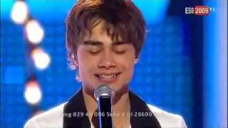 Eurovision 2009 - The winner - Norway - Alexander Rybak - Fairytale - Norway win Eurovision 2009 HQ