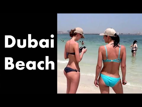 Beaches In Dubai | Dubai open Beach Jumeirah beach | Best Beach to Visit