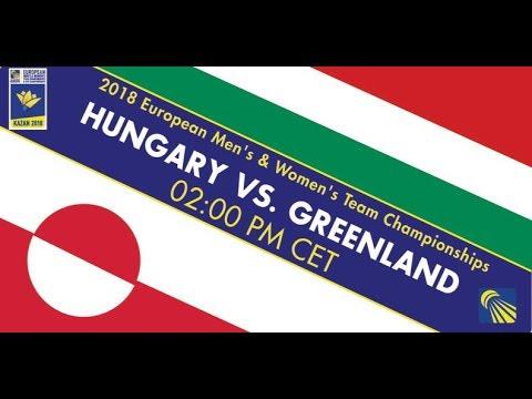 2018 EMTC Hungary - Greenland (Court 4)