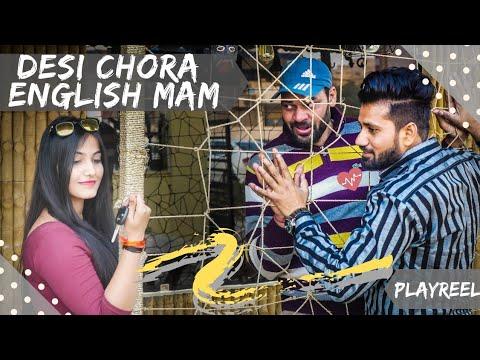 Desi Chora English Mam   Comedy Video   PLAYREEL  