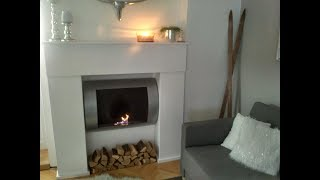 Krbová římsa DIY - Fireplace mantel