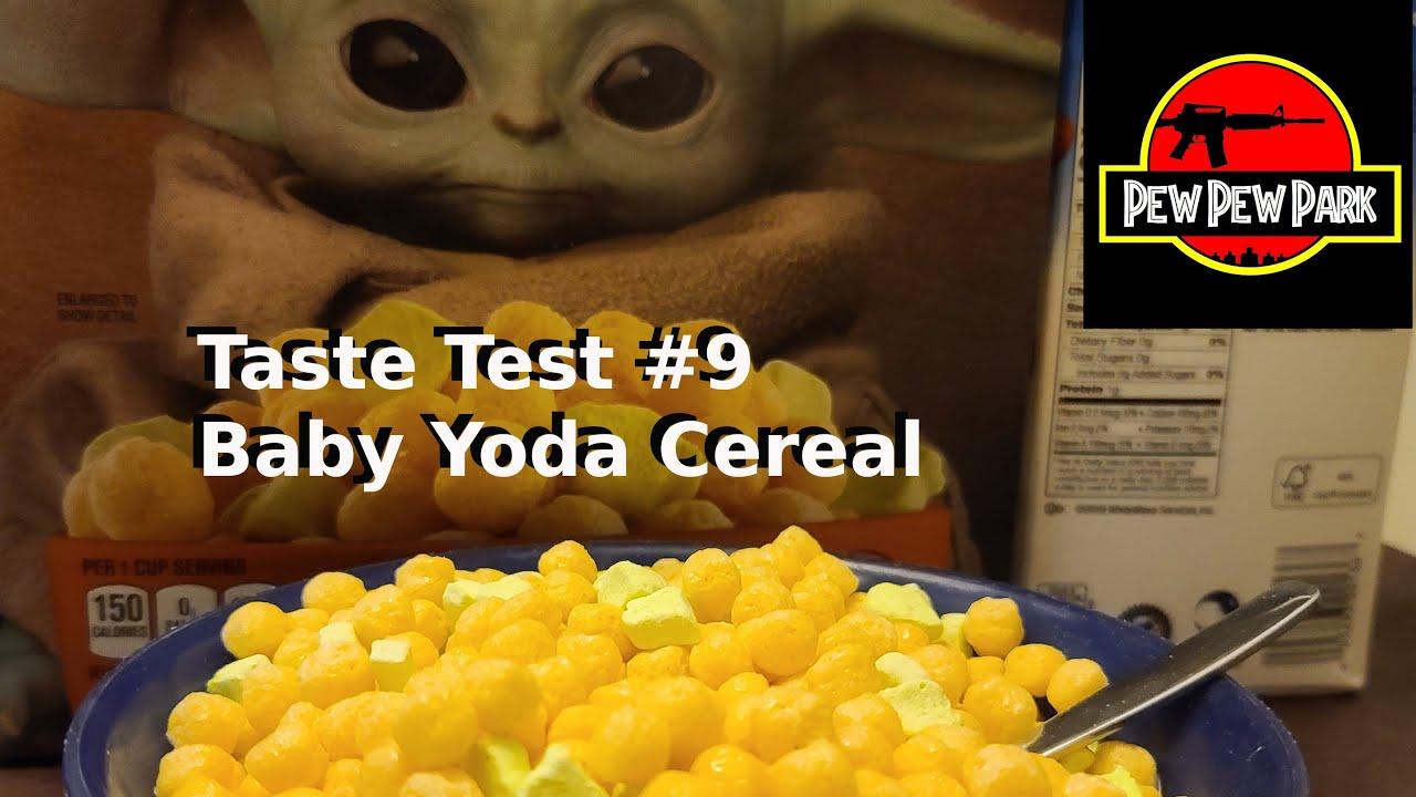 Taste Test #9: Baby Yoda Cereal