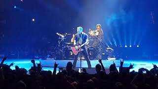Metallica, Live, Mannheim SAP Arena, 16.02.2018, Part 6, One, Master Of Puppets