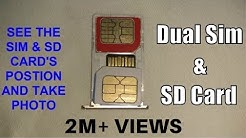 How To Insert Dual SIM With Micro SD Card In Hybrid Slot In 2020