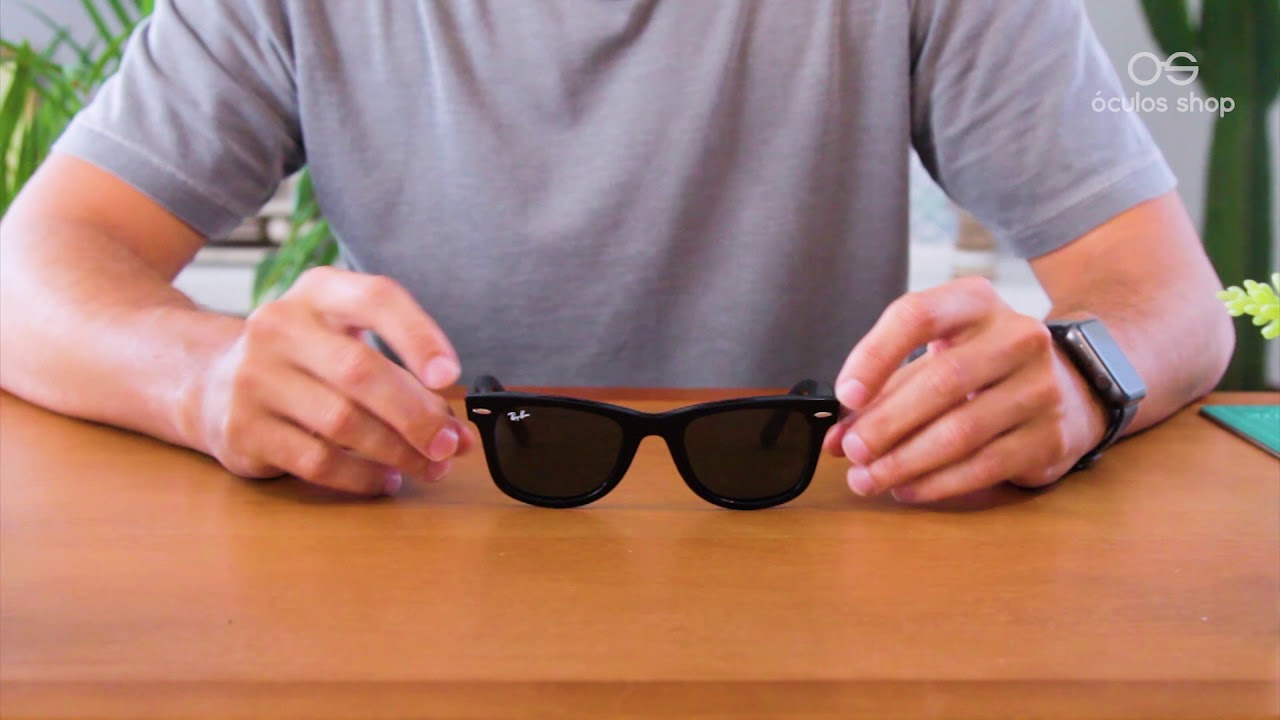 e2f429398582c Unboxing - Óculos Ray Ban Wayfarer - YouTube