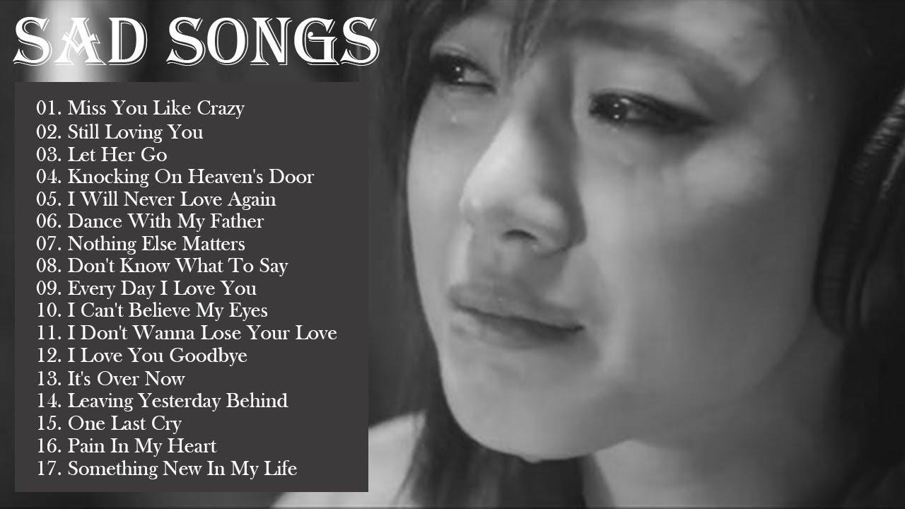Classic sad songs