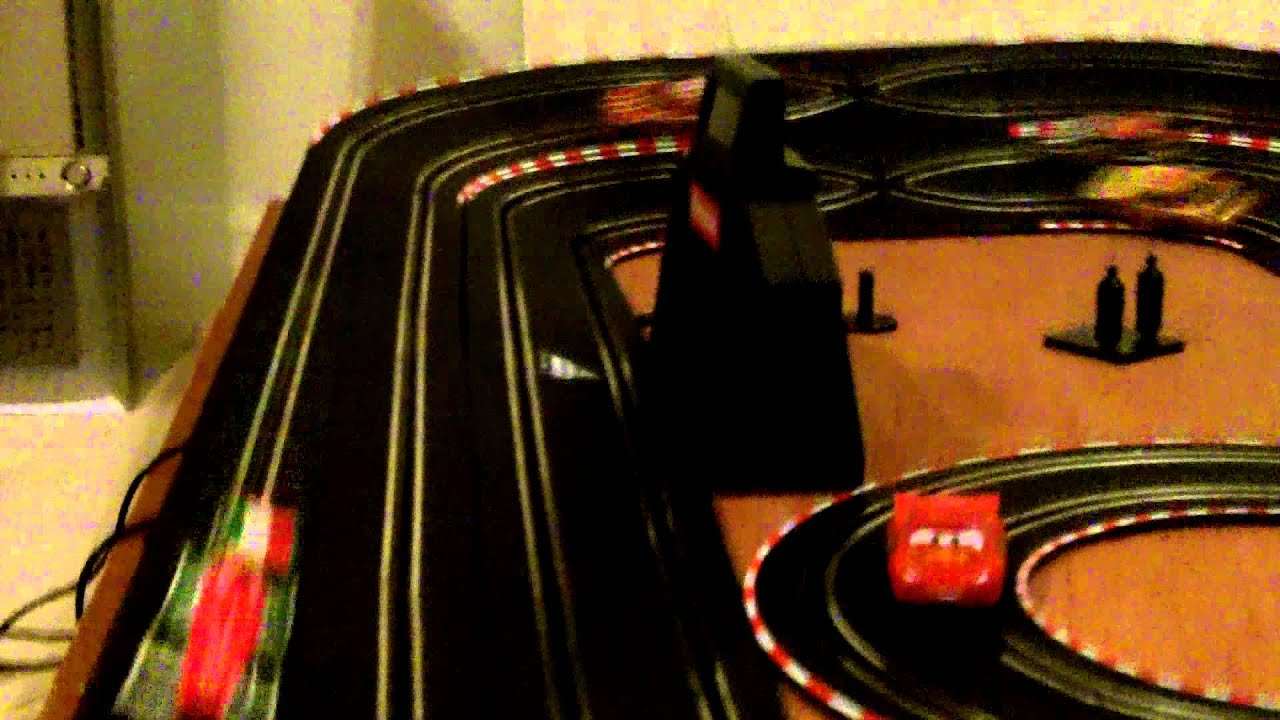 slot cars carrera go 1 43 4 lane test bristol youtube. Black Bedroom Furniture Sets. Home Design Ideas