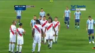Perú vs Argentina Eliminatorias Rusia 2018. Partido Completo.