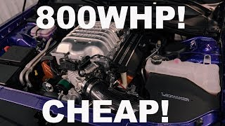 HOW MUCH DOES IT COST TO MAKE A 800WHP DODGE HELLCAT?