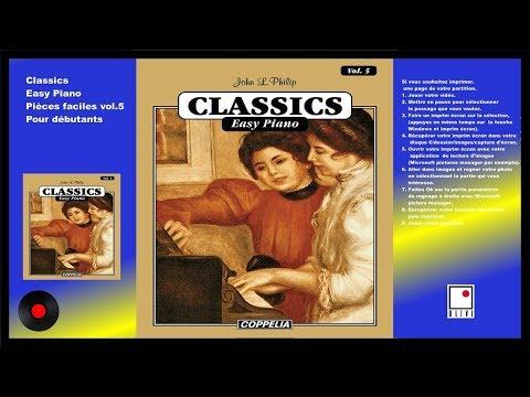 PARTITIONS - MÉTHODE DE PIANO CLASSIQUE VOL.5 POUR DÉBUTANTS - COPPELIA OLIVI