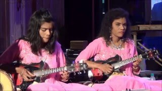 Shiva shiva shankara song from damarukam movie by mandolinsisters sreeusha & sireesha