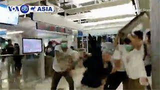 'Xã hội đen' tấn công người ủng hộ dân chủ Hong Kong (VOA)