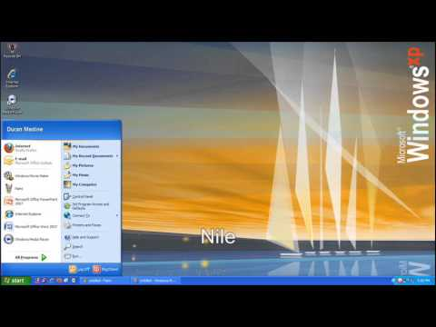 Windows XP Desktop Themes (Original & Plus!) Start-Up ...
