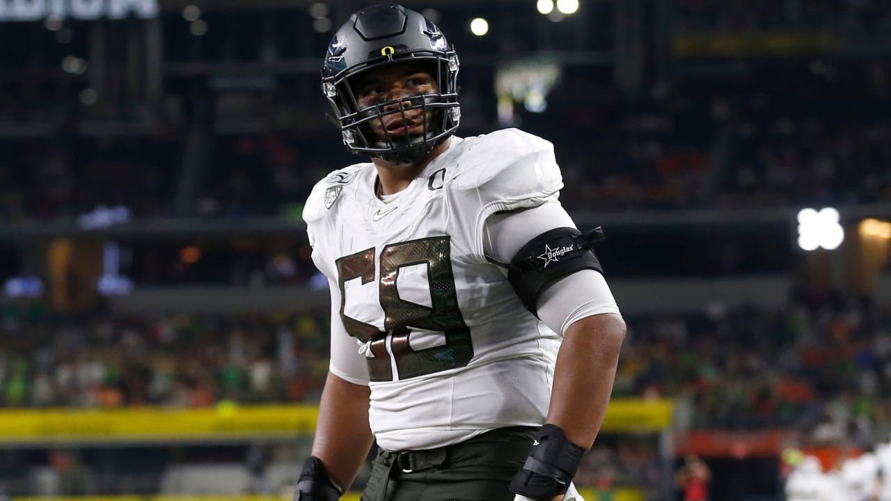 Analysis of Penei Sewell, Oregon OT! Top Prospects of 2021 Part 14 - YouTube
