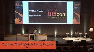 UI5con@SAP 2017 - Upcoming - UI5 OData V4 Model