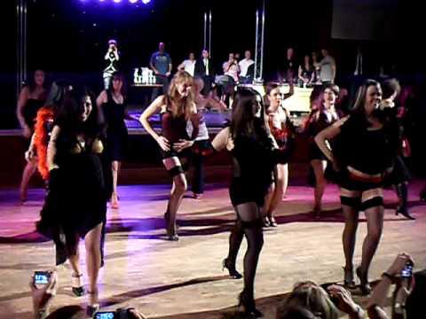 """Pontinbelles"" student show clubcubana's ""south west latin""  Brean dec.'09"