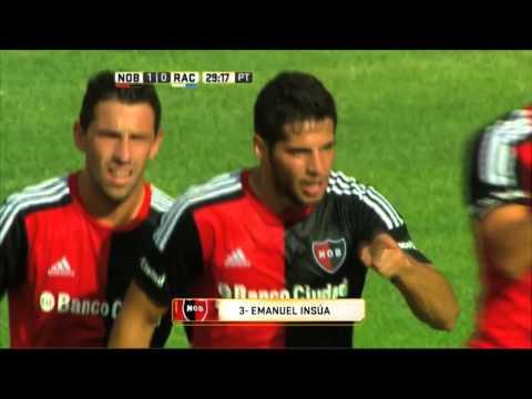 Newells goleó a Racing 5 a 0 en Rosario