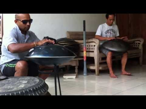 Hang Drum masters In Bali