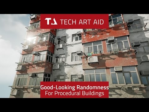 UE4: Good-Looking Randomization for Procedural Buildings