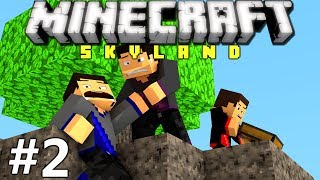 Minecraft: Skyland Ep. 2 - Discovering New Islands!