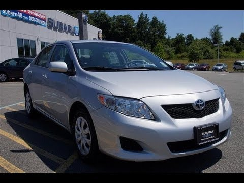2010 Toyota Corolla Le Sedan Youtube