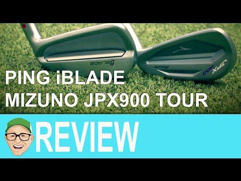 Ping iBlade Mizuno JPX900 Tour Irons