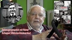 Dr. Bernd Drücke (graswurzelrevolution) im Gespräch mit Rainer Schepper (Wehrmachtsdeserteur)