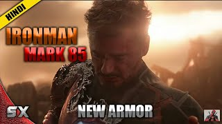 IronMan New Armor In Avengers 4 | Mark 85 Armor Can Bear The Power Of Infinity Stones | Hindi